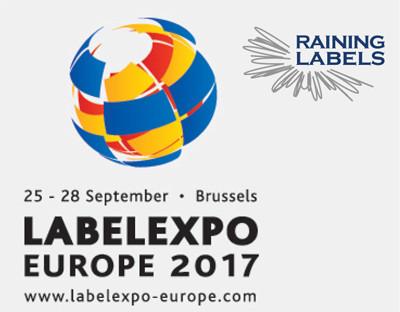 Raining Labels flies to LABELEXPO2017