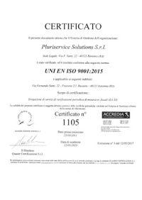 certificato iso9001-2015