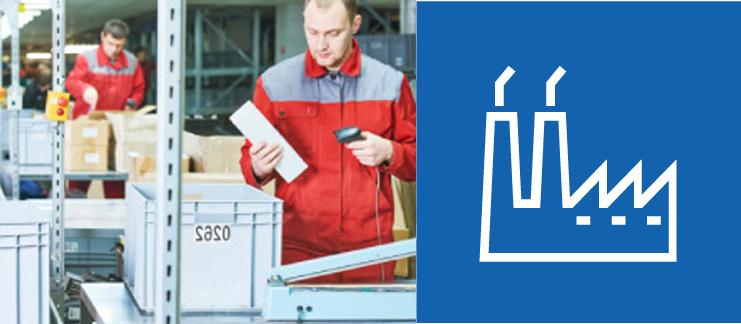 prodotti per l'identificazione automatica nel settore produzione