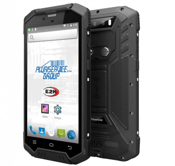 terminale barcode android Plus N7000 Rugged
