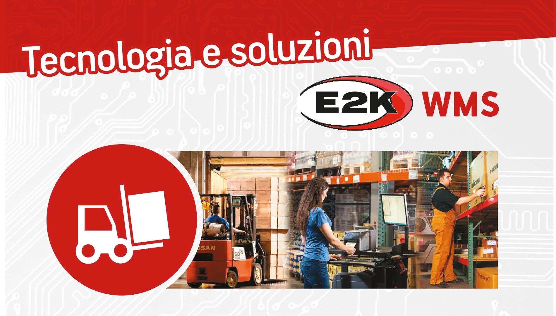 E2K WMS - software per la gestione del magazzino