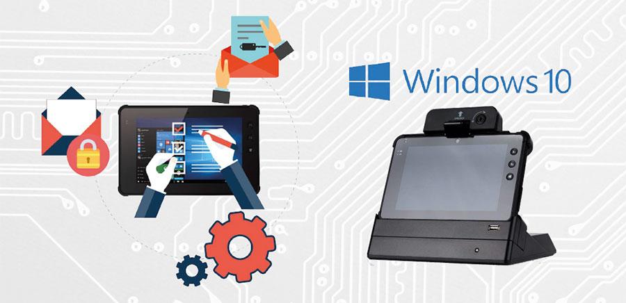 "tablet windows 7"" - Tablet Plus 7000 per i trasporti e la logistica"