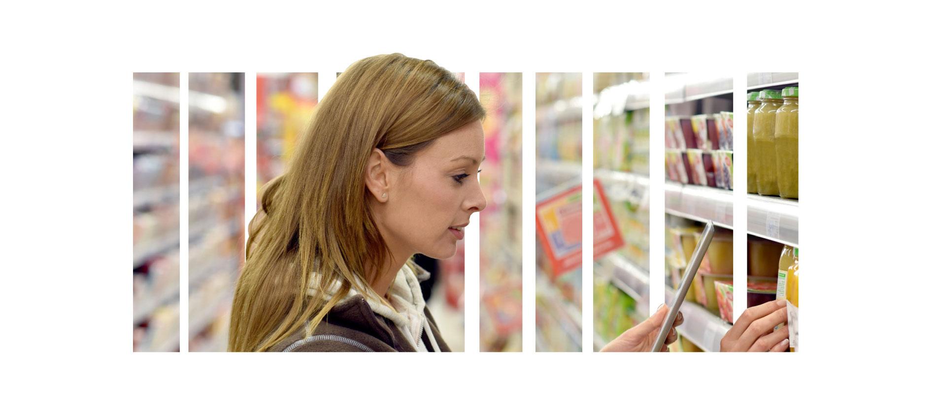 identificazione automatica per il retail