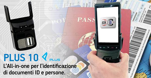 Lettore per identificazione di documenti identificativi e persone