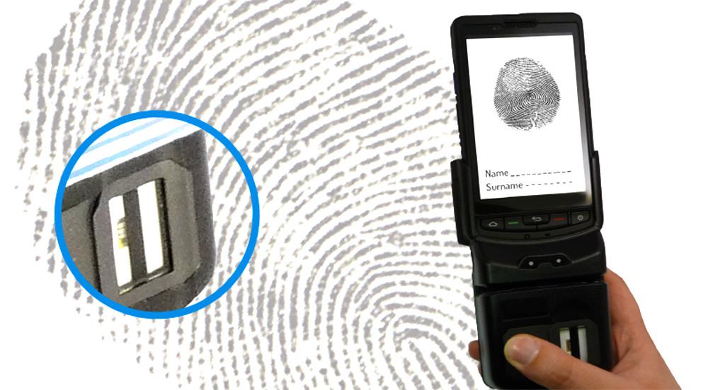 Plus10 fingerprint reader