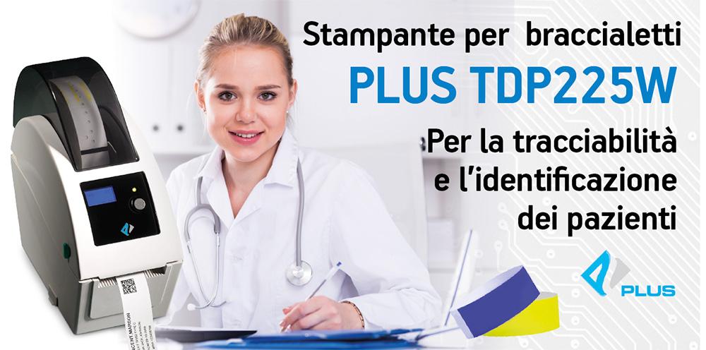 Stampante per bracciale identificativi Plus TDP225
