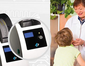 New product: Plus TDP225W ID wristband printer