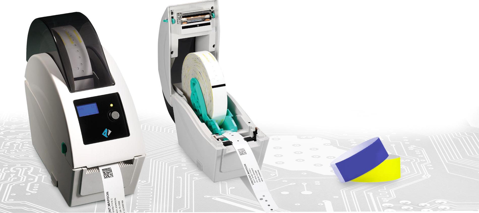 stampanti per braccialetti identificativi