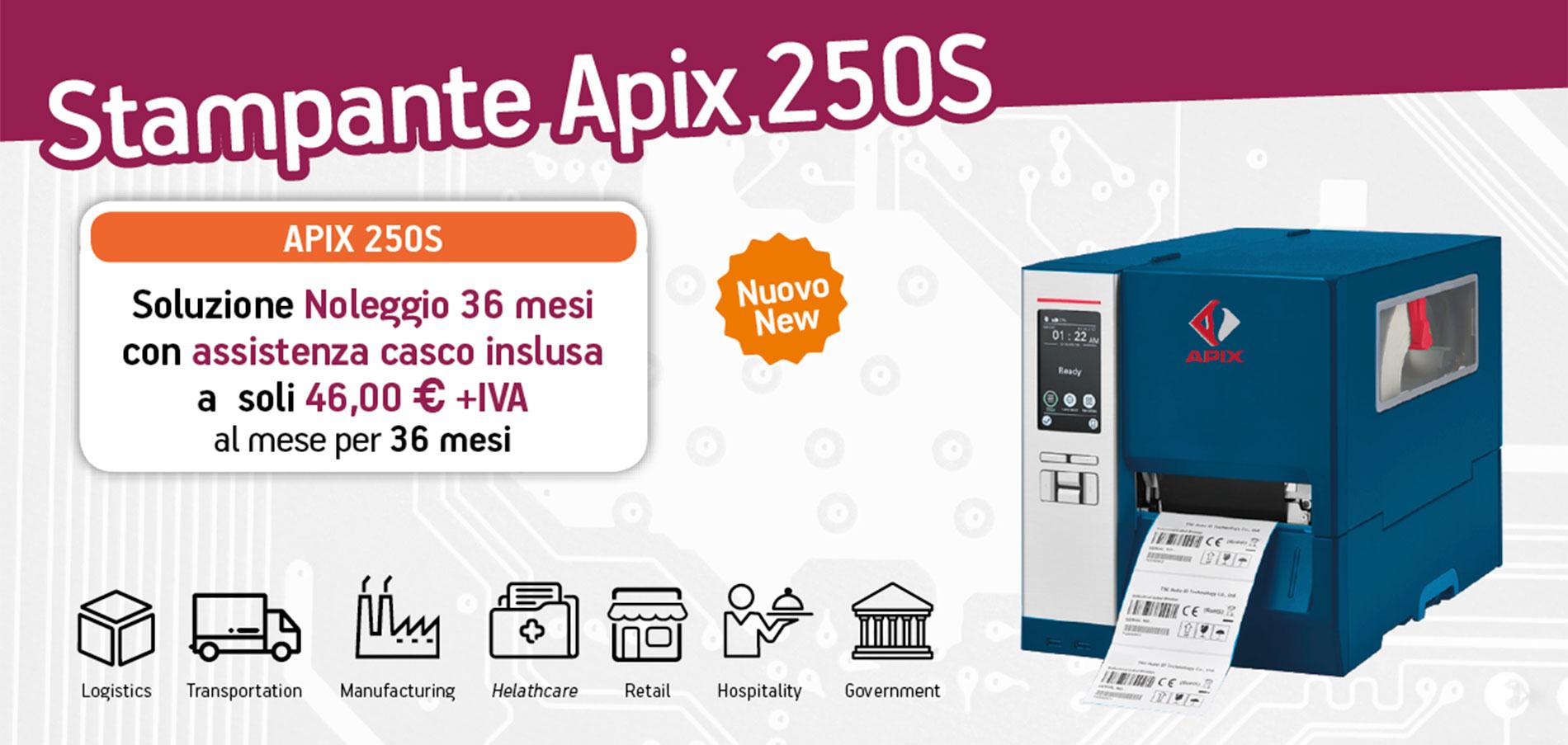 Apix 250S - stampante per-etichette -macfrut-2018