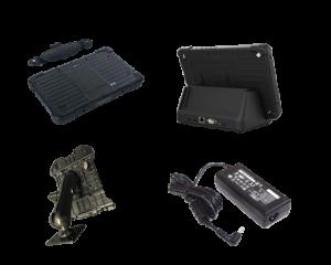 Tablet rugged plus E12 accessori