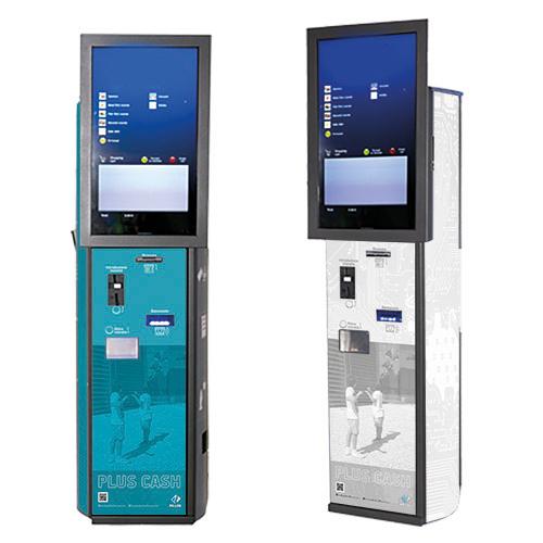 Chiosco automatico per pagamenti automatici in contanti Plus 10000