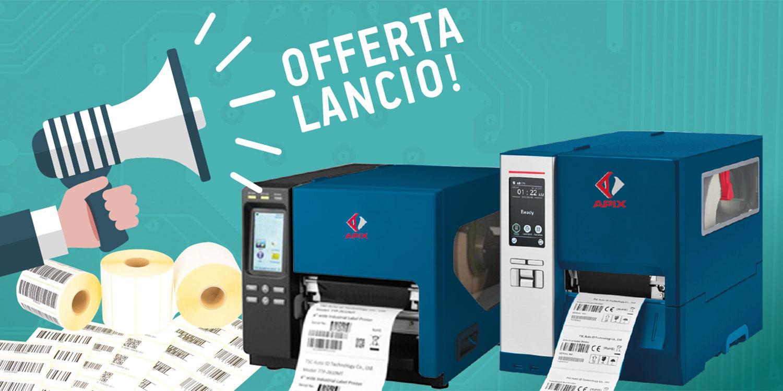 stampanti di codici a barre - prezzo lancio