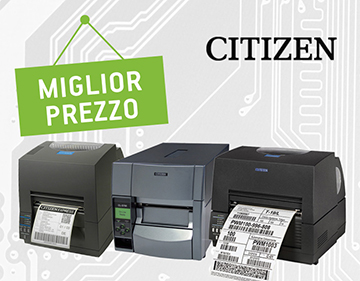 Promozione stampanti Citzen miglior prezzo Pluriservice