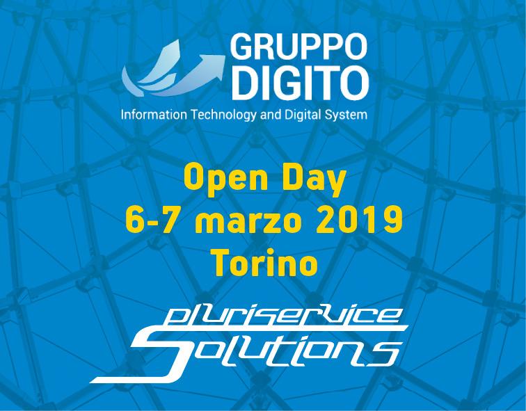 Pluriservice ospite agli open days di Gruppo Digito