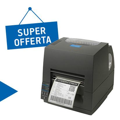 Promozione stampanti Citzen in offerta maggio - Stampante citizen CL-S 621