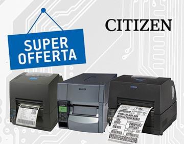Promozione stampanti citizen in offerta – maggio 2019