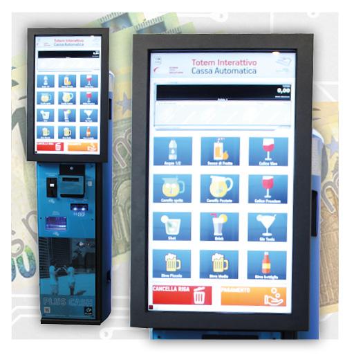 Promozione verificatori di banconote - chiosco interattivo per pagamenti automatici Plus 10000