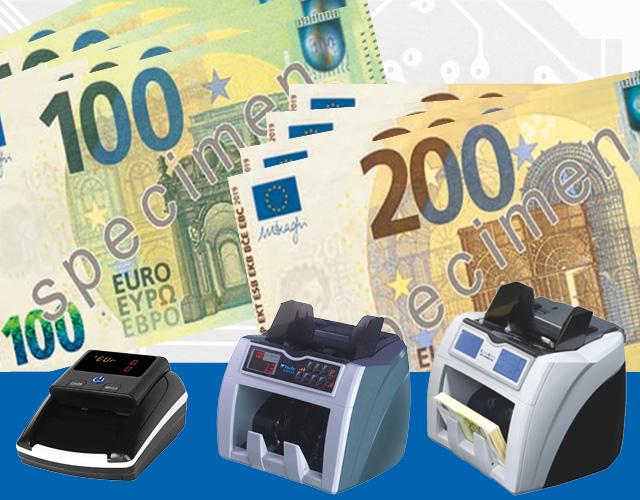 Arrivano le nuove banconote da 100 e 200 €