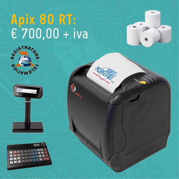 Registratore telematico Apix 80 RT