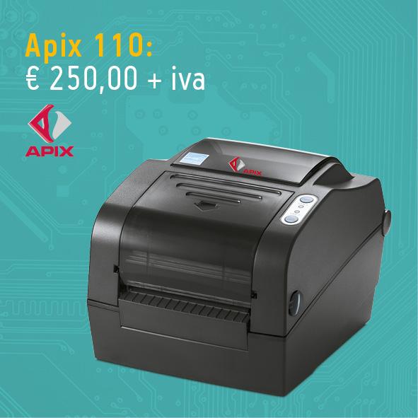 Stampante per etichette Apix 110