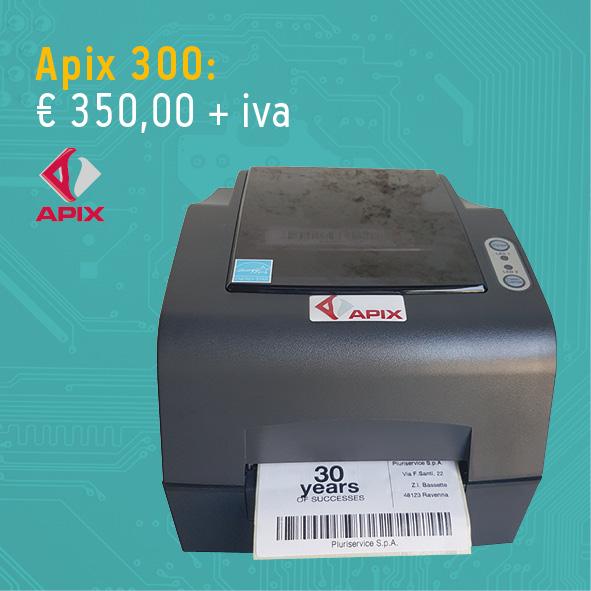 Stampante per etichette Apix 300