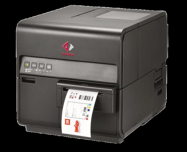 Stampante di etichette a colori Apix CPX4P