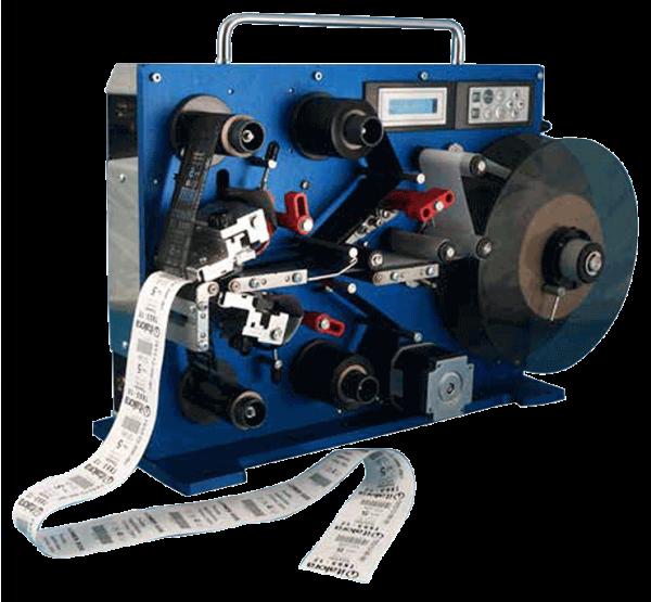 Stampante per etichette in tessuto o cartoncini fronte retro Apix Tex
