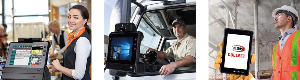 tablet industriali rugged - applicazioni per logistica retail e industria