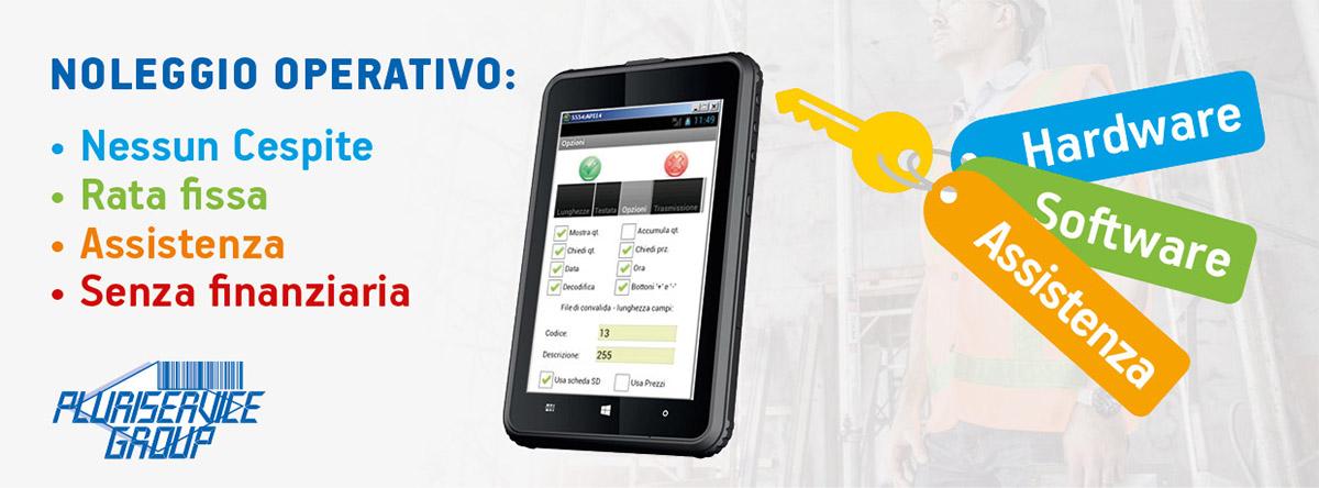 noleggio operativo hardware - tablet industriali