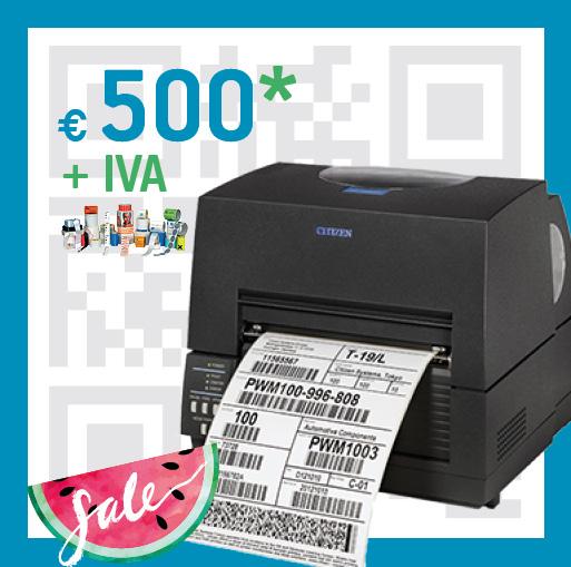 Stampante codice a barre CL-S-6621 - summer sale pluriservice 2019
