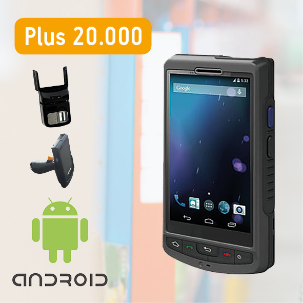 palmare android Plus 20.000