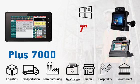 tablet industriali rugged - tablet 7 windows Plus 7000