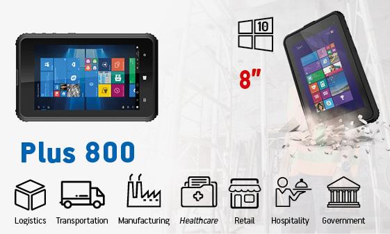tablet industriali rugged - tablet 8 windows Plus 800