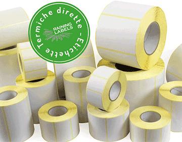 Etichette termiche senza Bisfenolo A