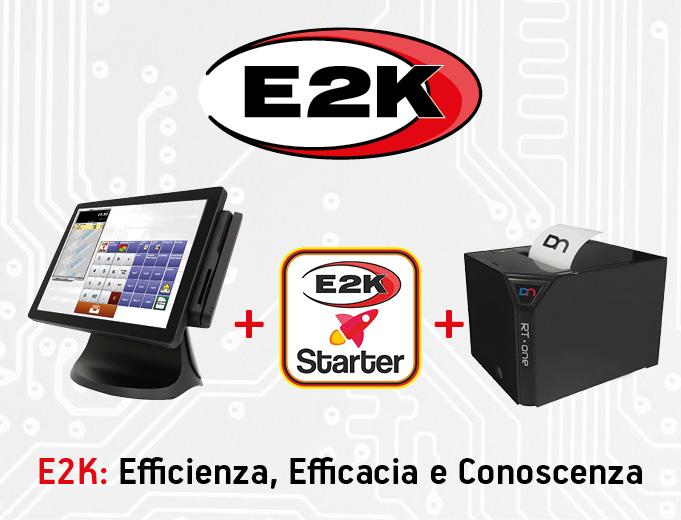 Registratore di cassa telematico - software E2K