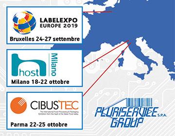 LabelExpo Bruxelles, Host Milano e Cibustec Parma