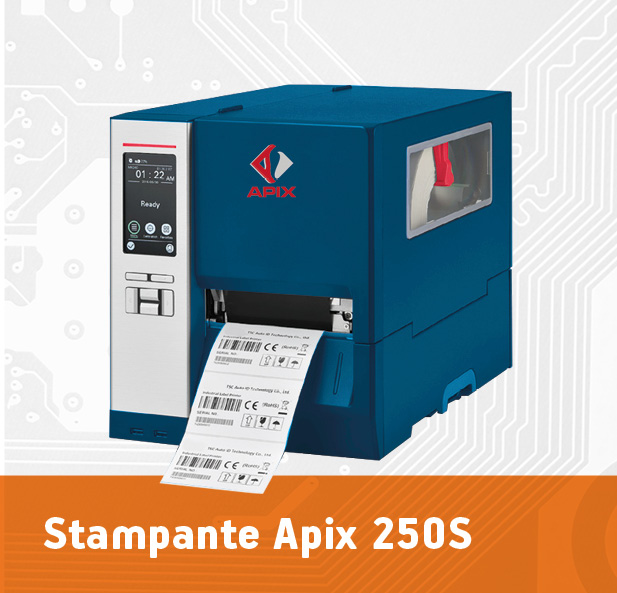 stampante industriale Apix 250S a Cibustec Parma 2019