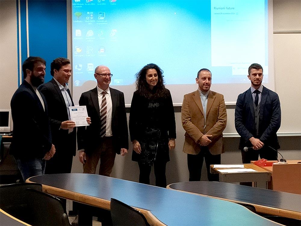 eCommerce Management e Tecnologie 4.0 - consegna dei diplomi - Lorenzo Piermartiri