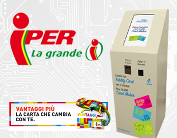 Pluriservice e Finiper – Plus 20000 card maker