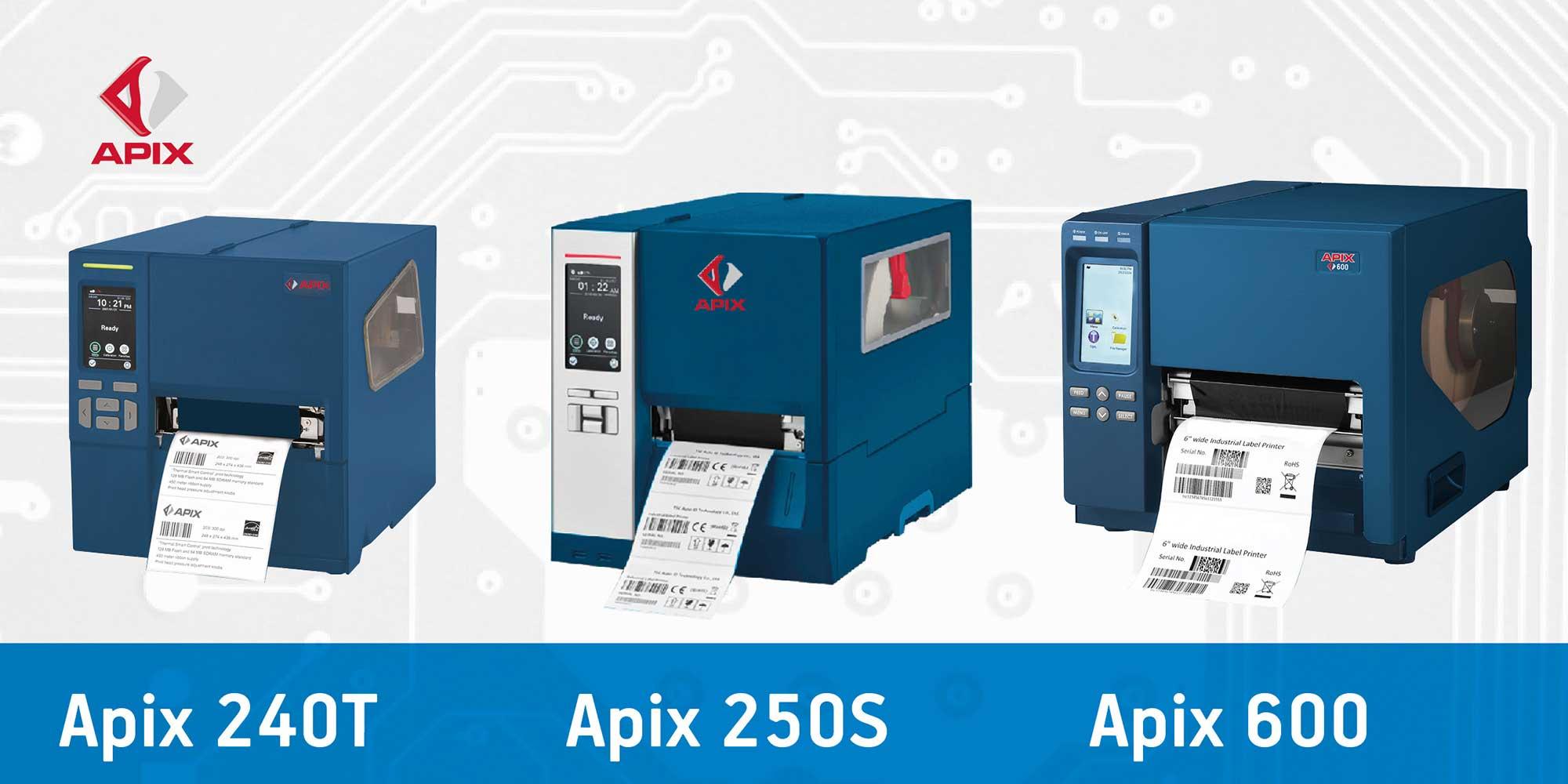 stampanti etichette apix ad uso industriale