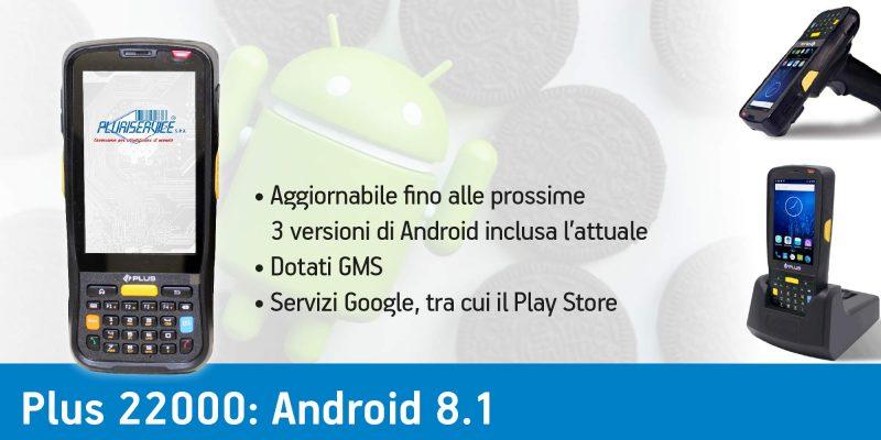 Terminale portatile android Plus 22000 - sistema operativo