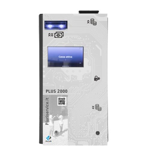 Cassetto automatico per pagamenti e Gestione dei resti Plus 2000