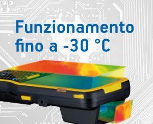 Terminale portatile android Plus 95 cold storage