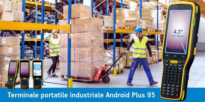 terminale portatile industriale android Plus 95
