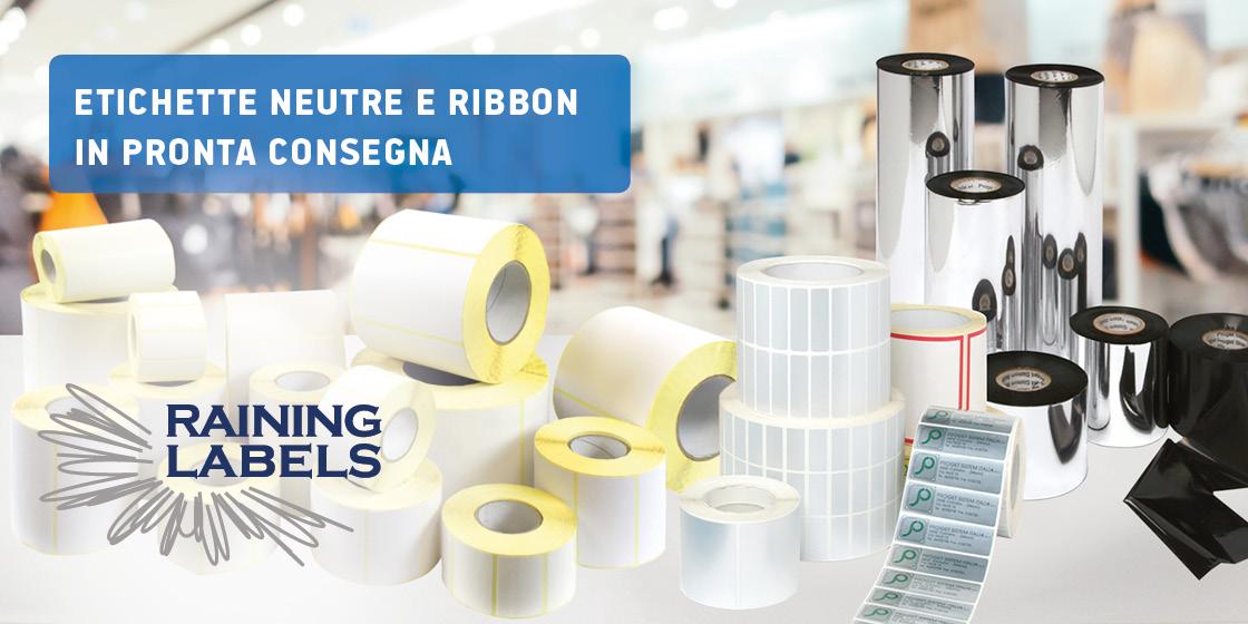 Ribbon e Etichette Pronta Consegna