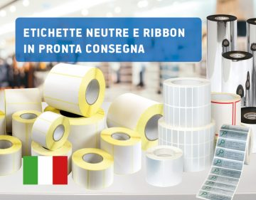 Ribbon ed etichette pronta consegna - raining labels - anteprima