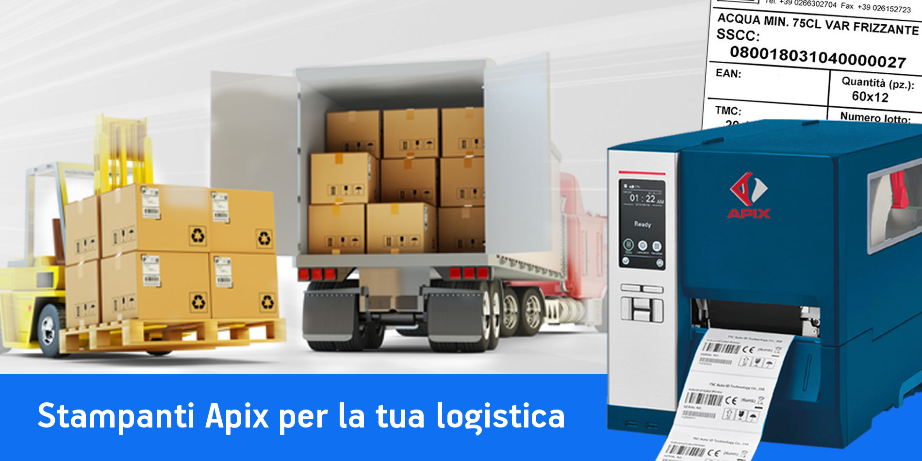 Stampanti etichette per logistica e produzione