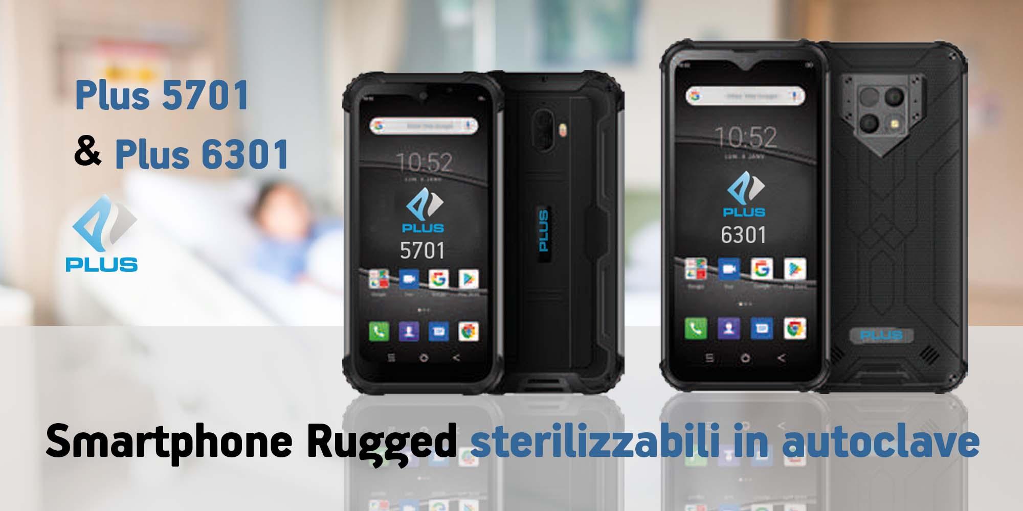 Rugged Smartphone sterilizzabili in autoclave