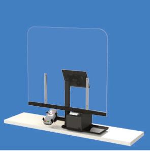 prodotti per contenimento covid19 - barriere protettive in plexiglas