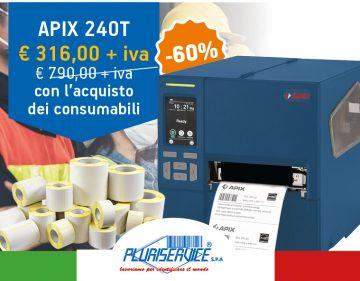 stampante per etichette industriale apix 240T in promozione - anteprima